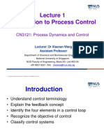 CN3121_PDC1_Introduction to Process Control