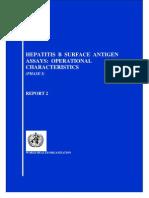 Surface Antigen Hepatitis B2