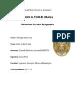 Geología Estructural 1er Informe