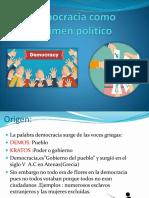 Democracia Como Regimen Político [Autoguardado]