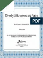 michelle cuthbert sals certificate