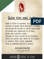 Poetry in Vitam - Carlos de La Rosa Vidal