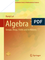 (Infosys Science Foundation Series) Ramji Lal (auth.)-Algebra 1_ Groups, Rings, Fields and Arithmetic-Springer Singapore (2017).pdf