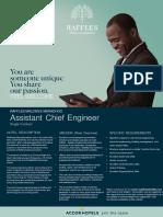 RMM Flash Opportunity - Asst Chief Engineer