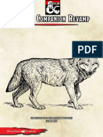 Regras Alternativas - Companheiro Animal D&D 5E