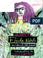 Muestra El Diario de Frida Kahlo - Carlos_Fuentes