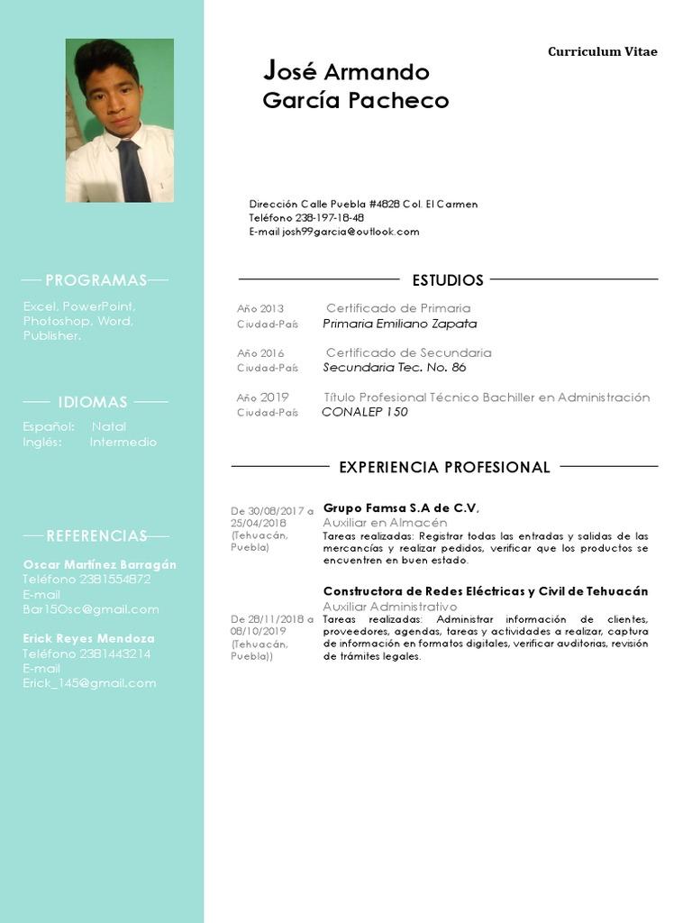 49 Curriculum Vitae Vivaz