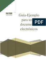 Guia Para Testar Doc Electronicos-cfdi-Del Agua Potable
