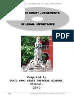 Supreme Court Judgements Of legal Importance 2010.pdf