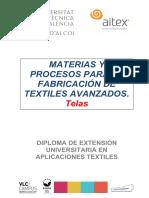 Telas no tejidas - apunte UPV AITEX - Diploma 2016-2017