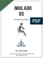 Simulado 05 - Eng Marinha