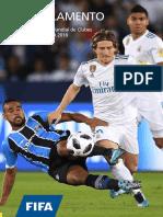Reglamento de FIFA 2018