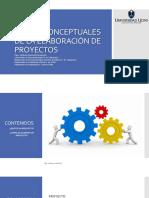 01 - Bases Concetuales de La Elaboración de Proyectos