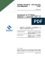NTC-ISO-IEC 17067