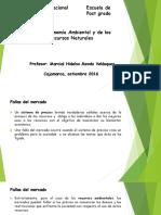 Curso Economia Ambiental y de Los Recursos Naturales II 2015