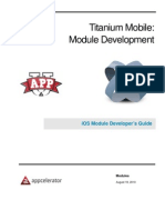 Module Developers Guide iOS