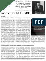 Academia Libre - Boletín 269