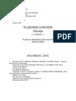 Vladimir Sorokin - Gheata.docx