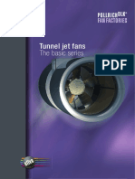 Tunnel Jet Fan - The Basic Series