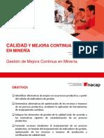 3. Gestión de Mejora Continua en Minería. (1)
