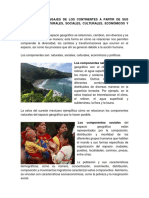 Diversidad de Paisajes de Los Continentes a Partir de Sus Componentes Naturales