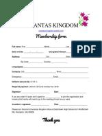 diemmy dang - membership form
