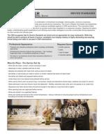 ES Prac-CMS Service Standards-Oct 2015