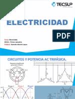 Circuitos y Potencia AC Trifásica.