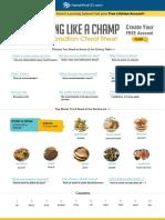 comidas en francés
