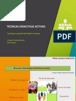 Tecnicas Didacticas 2018