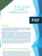 Control de Calidad de La Carne e Hidrobiologicos