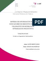Sistema de Información Sobre Indicadores de Medición