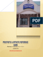 Prosthetic Orthotic Reference Guide