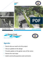 Albany Water Board Beaver Creek Clean River Project 2018-11-27 Public Meeting