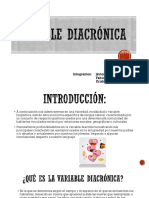 Variable Diacrónica