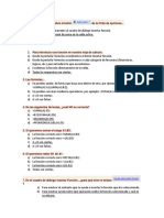 Prueba de Conocimiento Excel Basico