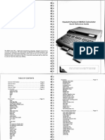 9825A Quick Reference Guide