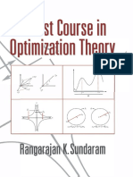 Sundaram, R. K. - A First Course in Optimization Theory