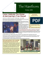 2018 Winter Newsletter