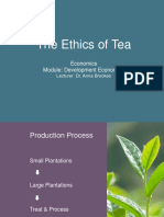 The Ethics of Tea