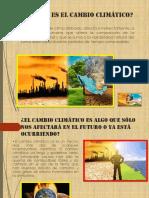 Qué Es El Cambio Climático 2.0