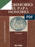 El Grimorio del Papa Honorio (Anónimo).pdf