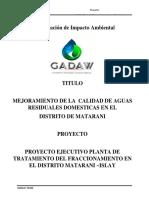 Proyecto Sector Construccion Vivienda y Saneamiento