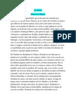 La Intrusa- J.L. Borges