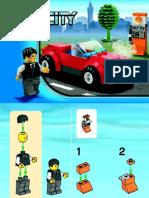 LEGO 8402 MANUAL INSTRUÇÕES