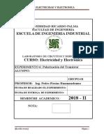 URP 2018 II EE Guia 6 - Transistor Bipolar