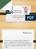 EMBARAZO PROLONGADO - SFA ppt 2017.pptx