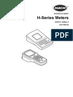 HACH H160 PH METER DOC022.53.80057_2ed