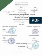 "Concurs interjudetean ""Ștefan cel Mare"""