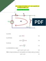 Modelo matematico Circuito RLC sencillo